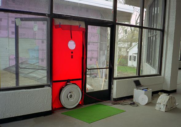 blower door test commercial